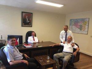 Başkan Yalçın, Karayolları Bölge Müdür yardımcıları ile bir araya geldi