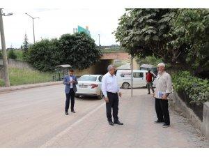 Başkan Baran, alt yapı çalışmalarını yerinde inceledi