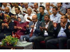 """Vali Demirtaş: """"15 Temmuz'da tarihimize yeni bir zaferi nakşettik"""""""
