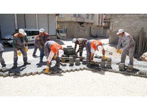 Şehitkamil'den humanız mahallesine kilit taşı