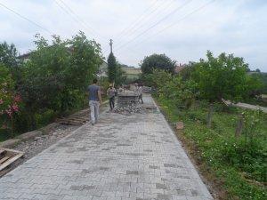 Durhasan Köyü'nde parke seferberliği