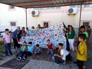Suriyeli ve Kilisli çocuklara boyama etkinliği