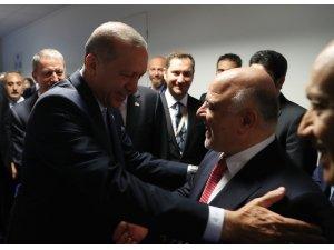 İbadi, Brüksel'de Erdoğan ile görüştü