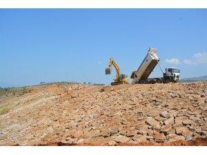 Ataköy Barajı inşaatı devam ediyor