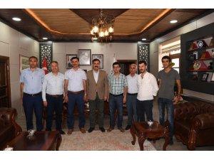 MUŞ-İLDER'den Başkan Asya'ya ziyaret