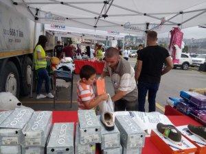 LÖSEV iyilikler tırı Forum Trabzon'da ailelerle buluştu