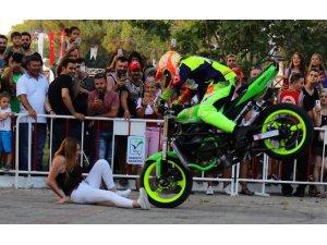 Manavgat'ta motosiklet festivali coşkusu