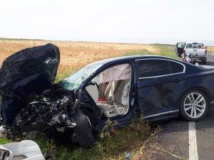 Iğdır'da trafik kazası: 1 ölü, 3 yaralı