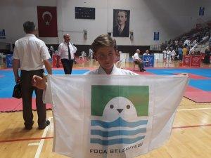Minik karateci uluslararası müsabakaya hazır