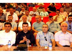 Sarıgöl'de 'Darbeler tarihi ve 15 Temmuz' konulu konferans verildi