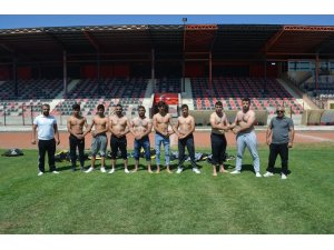 Turgutlu Belediyesi Güreş Takımı Kırkpınar'a iddialı gitti
