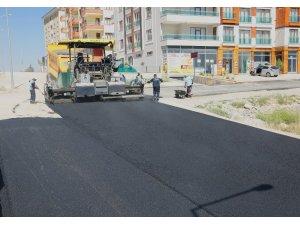 Battalgazi'de asfalt çalışması yapılıyor