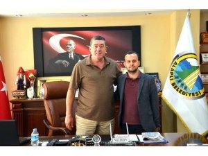 Gurbetçi meclis üyesinden Tekin'e nezaket ziyareti