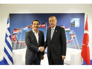 """Yunanistan Başbakanı Çipras: """"Erdoğan ile kolay bir görüşme değildi''"""