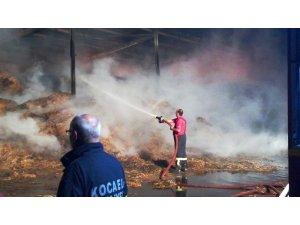 Kocaeli'de çiftlikte çıkan yangın 3 saat sonra kontrol altına alındı