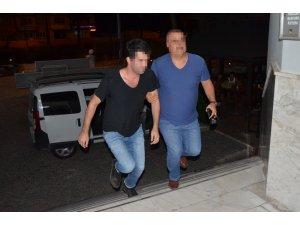 Milas'ta FETÖ/PYD şüphelisi üsteğmen otelde yakalandı