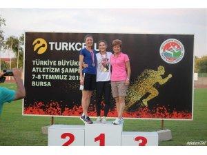 Emine Hatun Tuna Balkan Atletizm Şampiyonası'nda yarışacak