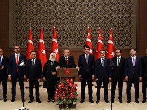 Yeni Bakanlar Kurulu ilk kez toplanıyor