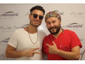 Dünyaca ünlü pop şarkıcısı saç ekimi için Türkiye'de