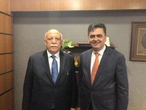 Başkan Yalçın'dan Milletvekili Avcı'ya ziyaret