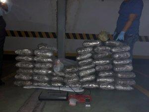 İstanbul polisinden uyuşturucu operasyonu: 122 kilo Hint keneviri ele geçirildi