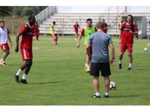 Sivasspor, ikinci etap çalışmalarına Bolu'da devam ediyor