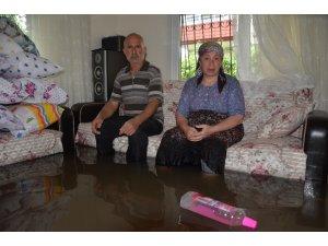 """Evini su basan kadın: """"38 yıllık emeğim çöpe gitti"""""""