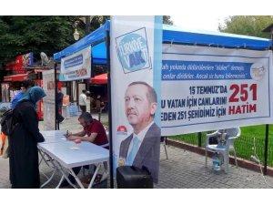 AK Parti Kütahya İl Gençlik Kolları Başkanlığı'ndan 15 Temmuz şehitleri için hatim kampanyası