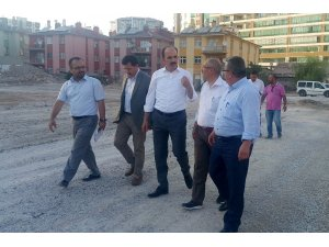 Başkan Altay, Şehit Ömer Halisdemir Caddesindeki çalışmaları inceledi