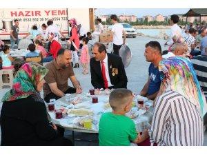 Beyşehir Belediyesinden şehit aileleri ve gaziler onuruna yemek