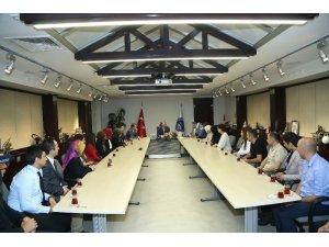KAYMEK öğretmenleri ile Başkan Çelik'i ziyaret etti