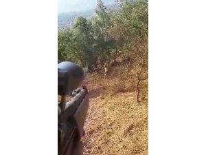 Jandarma, teröristi böyle gözaltına aldı