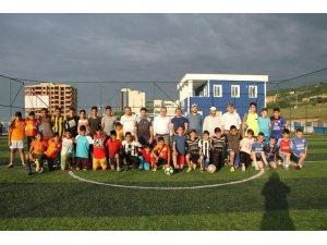 Samsun'da gençleri kötü alışkanlıklardan korumak için futbol turnuvası düzenlendi