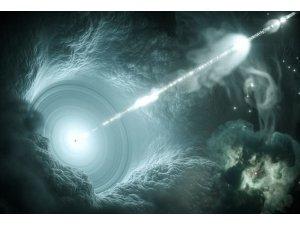 """Bilim insanları: """"Hayali nötrino atom altı parçacığının kaynağı Dünya'ya 4 milyar ışık yılı uzaktaki bir galaksi"""""""