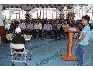 Kur'an kursu öğrencilerinden 15 Temmuz programı