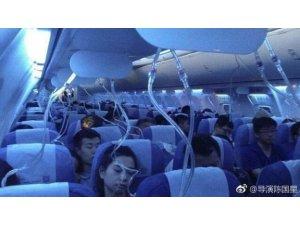 Elektronik sigara içtiğini saklamaya çalışan pilot uçağı acil inişe geçirdi