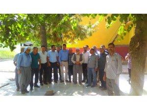 AK Parti Bağlar ilçe teşkilatından köylere çıkarma