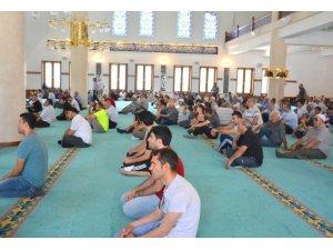 15 Temmuz Demokrasi ve Milli Birlik Günü dolayısıyla İlahiyat Camisinde Mevlid-i Şerif okutuldu