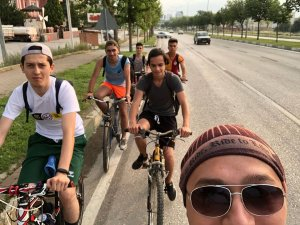 Bisikletle köye göç