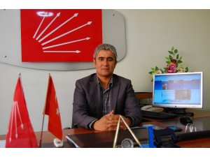 CHP'li ilçe başkanı görevinden istifa etti