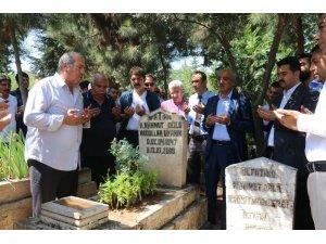 Abdullah Uyanık mezarı başında anıldı