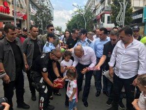 Sakarya'da 'Polise Koş' etkinliği düzenlendi