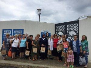 Kadınlara özel havuz Abhaz Kültür Derneği'ne üye 35 kadını ağırladı