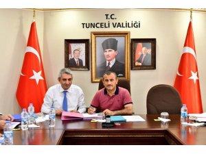 """Tunceli'de """"Doğa Sporları Altyapısının Güçlendirilmesi"""" projesi"""