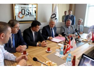 Kayseri OSB ile ORAN Kalkınma Ajansı arasında Uluslararası Fuarcılık ve Kongre Merkezi için protokol imzalandı