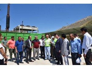 Manisa Büyükşehir Belediyesi metan gazından elektrik üretiyor