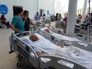 MSÜ Eğitim Araştırma Hastanesinde yangın paniği
