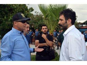 Hatay'da izinsiz gösteriye polis müdahalesi