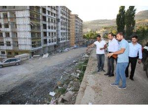 Başkan Bedirhanoğlu, çalışmaları denetledi