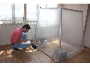 Tarım işçisi fikir verdi, güneş enerjili klima üretti